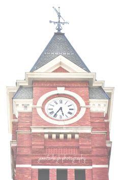 Samford Clock Tower Auburn, Al