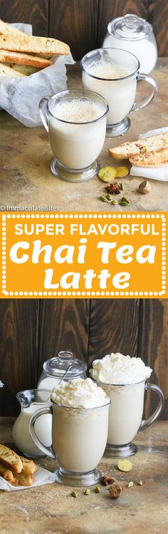 Chai Tea Latte – super easy guilt-free homemade Chai Latte that is rich, creamy, spicy and sweet. A perfect warm blend to lighten you up especially on these cool days. Check this out and see what an early Christmas present feels like in October. If you like fresh, spicy, sweet and milky tea …