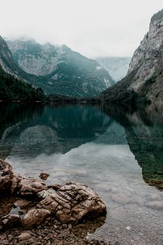 Obersee, Berchtesgaden National Park, Bavaria, Germany by Kristin Fraley Places To See, Places Ive Been, Free State, Germany Travel, Bavaria, Austria, National Parks, River, Landscape