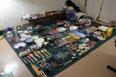 Konmari kitchen stuff