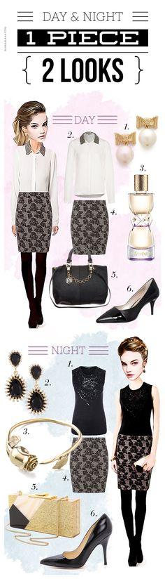 Night & Day: 1 Piece, 2 Looks – Der Rosenrock