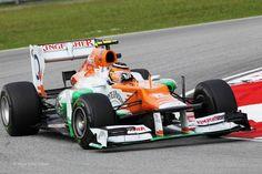 Nico Hulkenberg, Force India, Sepang, 2012