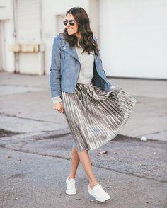 5 Ways to Wear a Pleated Skirt — How Do You Fashion