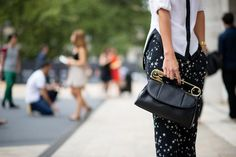 Kelly Framel - Slideshow: Street Style From New York Fashion Week, Day One - The Cut