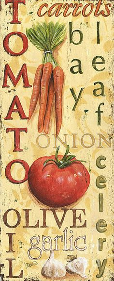 Tomato Soup Poster by Debbie DeWitt