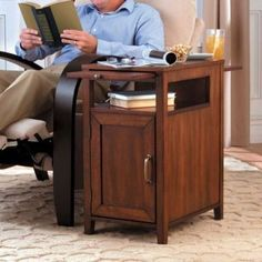 Recliner Side Table Price$189.99