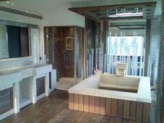 white cedar tub