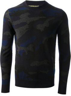 Sweater VALENTINO  #alducadaosta #newarrivals #camo #camouflage #trend #man #apparel #style #fashion #valentino
