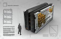 ArtStation - Supply Crate 01, Branford Meentzen