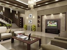 """#Beautiful #Livingroom ..  """"Class"""" With Warm, Rich Colors and Style"""" ..."""