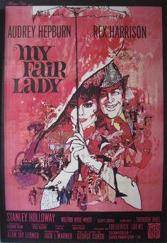 My Fair Lady. Art by Bob Peak.
