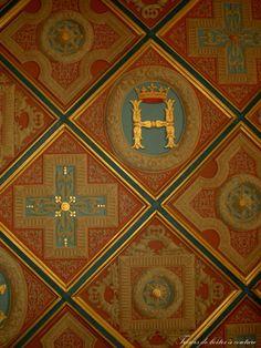Détail plafond Chenonceaux