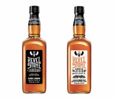 wooilikeit ^.^ - Revel Stoke Spiced Whisky Branding by Mono