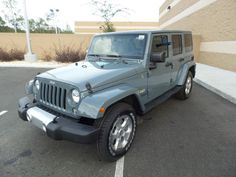 2015 Jeep Wrangler Unlimited Sahara 4D Sport Utility