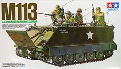 Tamiya 35040 M113 U.S. Armoured Personnel Carrier US Army Vietnam 1/35 scale Plastic Model Kit(China (Mainland))