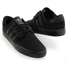 ADIDAS SEELEY SNEAKERS NWOT no box ADIDAS seeley sneakers in black size M6 unisex W8 Adidas Shoes Sneakers