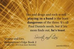 Keeping secrets? Just a few. Paul Daniels is sixteen years old and living a double life. If his mother knew he was playing in a band, she'd freak. So she won't find out. Paul needs the music like h...