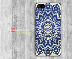 iPhone 5s case iPhone 5 case Blue Mandala print by multicolorcases, $7.99