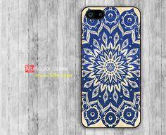 iPhone 5s case iPhone 5 case Blue Mandala print by multicolorcases, $7.99