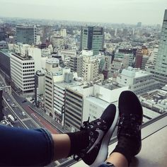 NIKE roshe in Shibuya Cerulean Tower Cerulean Tower Tokyu Hotel, Comfy Bed, Nike Roshe, Four Square, Spaces, Travel, Viajes, Destinations, Traveling