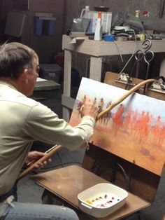 Artist at work on The Dream Team Texas Cowboys, Cowboy Art, Dream Team, Artist At Work, Painting Inspiration, Artsy Fartsy, Horses, Future, Space