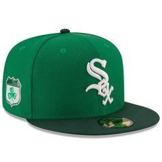 fb3700c6012 Men s Chicago White Sox New Era Green 2017 St. Patrick s Day Diamond Era  59FIFTY Fitted