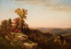 James David Smillie - View in the Catskill Mountains, 1870 offered by Godel & Co Fine Art Inc. Hudson River School Paintings, A4 Poster, Poster Prints, Catskill Mountains, Vintage Artwork, Painting & Drawing, Landscape Paintings, Sculpture, Fine Art