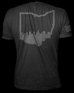 Rogue Fitness Skyline Shirt - Representing Columbus!