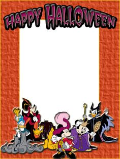 happy halloween picture frames
