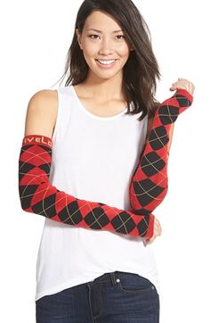 FiveLo 'SanFran' Argyle Arm Sleeves