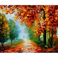 "Park. ""Fall Colors""? Leonid Afremov"