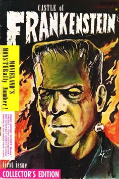 Castle of Frankenstein horror magazine, first issue