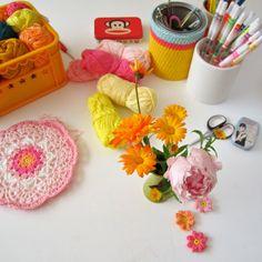 Pretty Craft Room