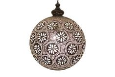 Buy a handcrafted Moroccan silver lantern at an affordable price from E Kenoz. Each Moroccan light is made of solid brass to enhance beauty of your home.