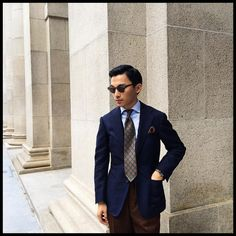 The Armoury Lightbox: Ring Jacket Mohair&Wool Hopsack sport coat & EG Capelli tie