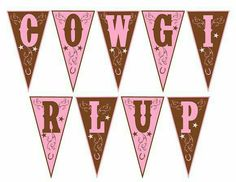 Penant Cowgirl Up