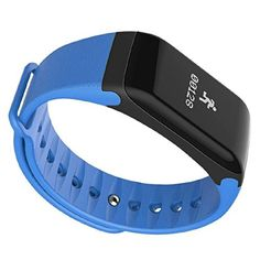 TOOGOO(R) Blue PC+TPU F1 Bluetooth 4.0 Smart Watch Sports Pedometer Heart Rate Monitor   * TOOGOO is a registered trademark. ONLY Authorized seller of TOOGOO can sell under TOOGOO listings.Our products will enhance your experience to unparall
