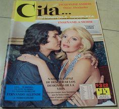1976 CITA photonovel JACQUELINE ANDERE magazine OMAR ALEXANDER FERNANDO ALLENDE
