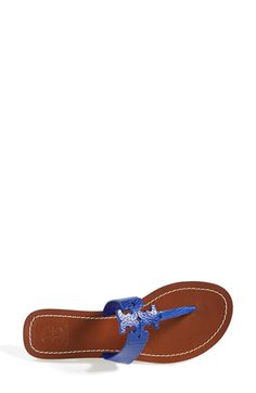 Tory Burch 'Moore' Leather Thong Sandal (Women)(Nordstrom Exclusive) | Nordstrom