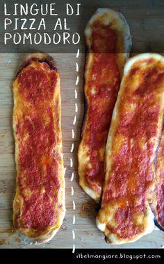 Il Bel Mangiare: Lingue di pizza al pomodoro