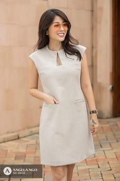 Jan 2018, Palomino, Frocks, Blouse Designs, Casual, White Dress, Chic, Outfits, Color