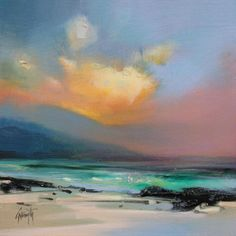 Naismith, Scott - Hebrides Shore Study. Beautiful light