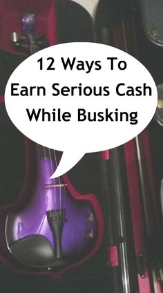 12 Ways to earn serious cash while busking, tips for street performers and musicians