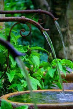 Agua y verde....