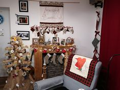 This year's christmas decoration Ladder Decor, Christmas Decorations, Home Decor, Homemade Home Decor, Christmas Decor, Christmas Baubles, Decoration Home, Christmas Ornaments, Interior Decorating