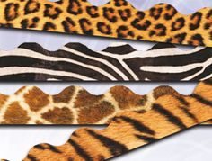 Assorted Safari Value Borders Pack Classroom Borders, Classroom Displays, Animal Print Rug, Safari, Packing, Printed, Ideas, Design, Decor