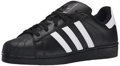 Adidas Superstar Foundation Black White Mens Trainers - http://uhr.haus/adidas/42-2-3-eu-adidas-superstar-foundation-unisex-weiss