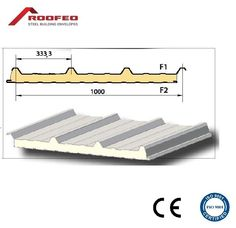 80 MM FIRE RATED PUR INSULATED ROOF PANEL, SANDWICH PANEL, NOT KINGSPAN