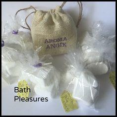 Lavender & Orange Bath Bombs!