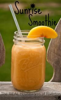 Sunrise Smoothies are the perfect healthy breakfast smoothie!